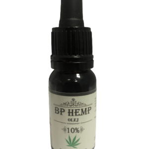 BP Hemp OLEJ CBD 10% (1000MG) FULL SPECTRUM – 10ML