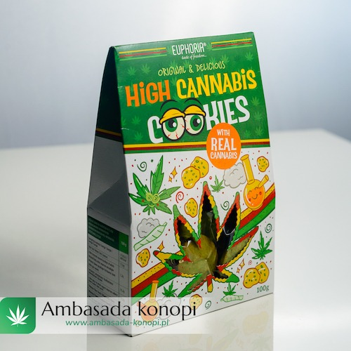 Ciastka high cannabis konopne